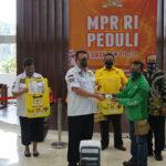 MPR RI Beri Bantuan Partisi dan Fasilitas Asuransi BPJS Kepada Pengemudi Ojol