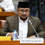 Komisi VIII DPR Rapat dengan Menag Yaqut Cholil Quomas Bahas Amggaran, BPJPH, dan PPPK