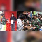 Pangdam Jaya dan Gubernur Anies Bagikan Masker di Zona Merah, Baznas Bazis Jaktim  Bagikan 100 Paket Sembako