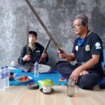 Padepokan Toemaritis dan Sanggar Bechak Simpan Golok Chakung  dan Gong Berumur 5 Abad Lebih