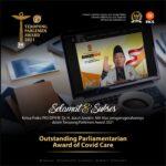 Fraksi PKS DPR RI Kembali Raih Penghargaan Fraksi Paling Aspiratif
